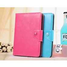 7″ Universal Flip PU Leather Tablet PC Holster Fashion General Tablet Sleeve For Samsung For Kindle Stand Function Cover Case
