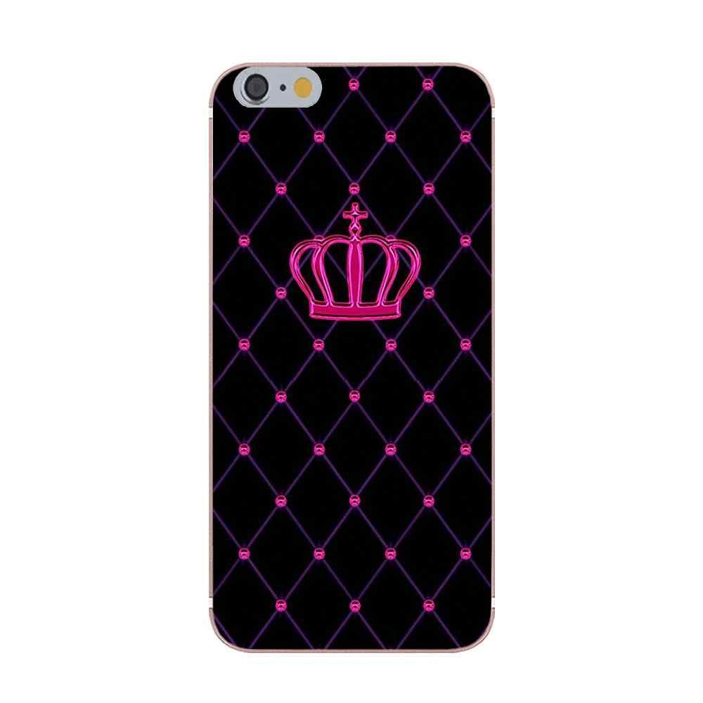 Kmuysl Per il iphone di Apple 4 4 s 5 5C 5 s SE 6 6 s 7 8 Più di X Morbido custodie Capa Re Queen Il Vostro Miniera 02