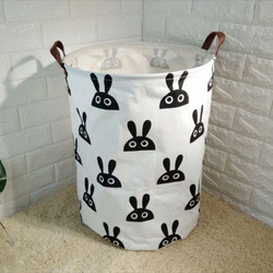 40*50cm New Storage Basket Dirty Cloth Cartoon Castle Baby Clothes Baskets Waterproof Storage Basket For Toys Organzier Foldable