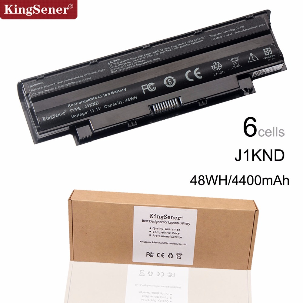 KingSener Laptop Battery J1KND do DELL Inspiron N4010 N3010 N3110 N4050 N4110 N5010 N5010D N5110 N7010 N7110 M501 M501R M511R