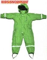 Bambini slask pioggia ragazzi complessivi impermeabile Esterno tute abbigliamento da sci impermeabile abbigliamento bambini rainsuit Pagliaccetti inverno antivento