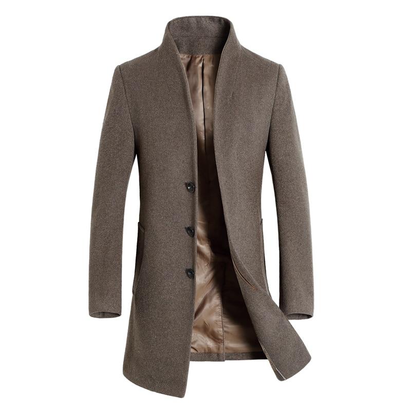 Popular Mens Woolen Winter Coats-Buy Cheap Mens Woolen Winter ...