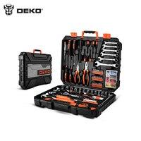 Tools Set DEKOPRO DKMT208 (208 pcs) Wrench Hand Set of Tool Box Toolset