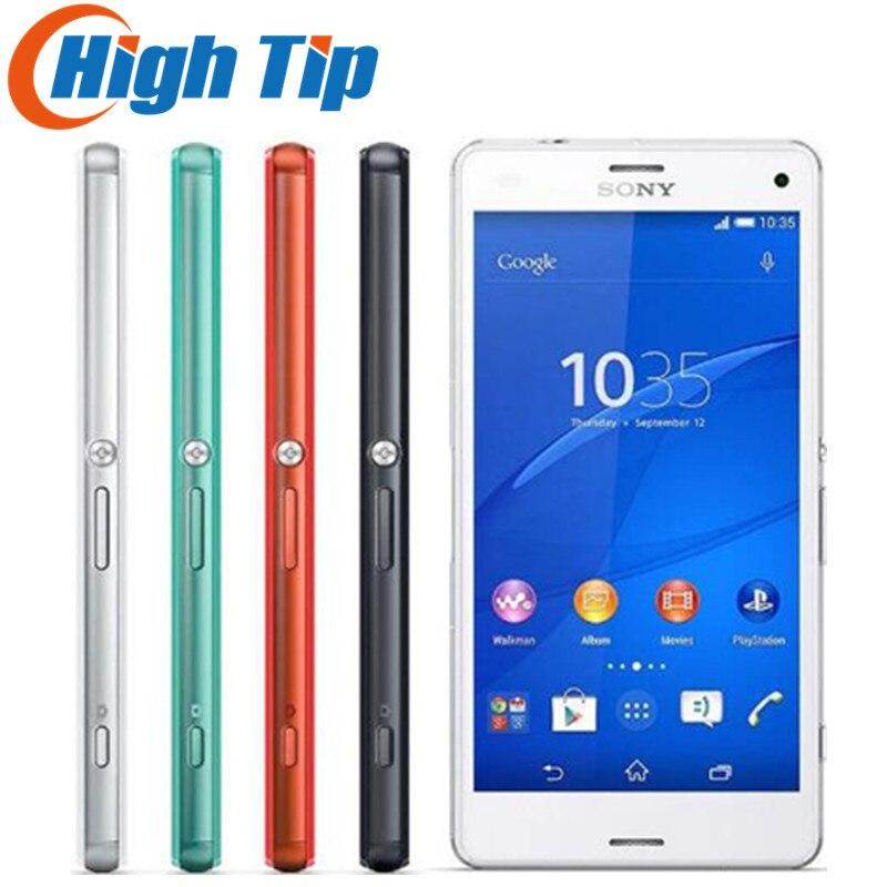 Débloqué Original Sony Xperia Z3 Compact D5803 4g LTE Android Smartphone 2 gb RAM 16 gb ROM 4.6 WIFI GPS 1080 p Mobile téléphone