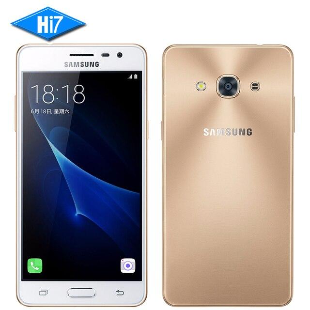 """Новый оригинальный Samsung Galaxy J3 Pro J3110 мобильный телефон Snapdragon 410 Quad Core 5.0 """"Dual SIM 8.0MP NFC 4 г LTE смартфон 2600 мАч"""