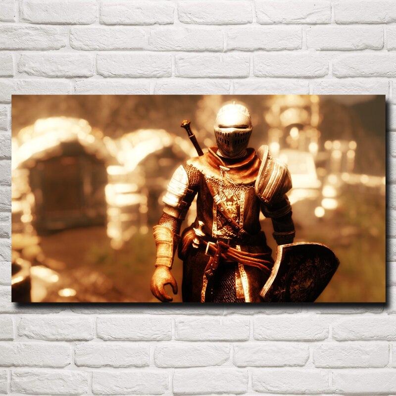 Almas oscuras Obras de Arte Videojuegos Arte Tela De Seda Impresión Del Cartel C