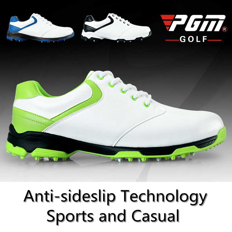 Brand PGM Adult Mens Golf Sports Shoes Anti-sideslip Technology and Waterproof and Breathable and Light Weight brand pgm adult mens golf sports shoes anti sideslip technology and waterproof and breathable and light weight golf sneakers