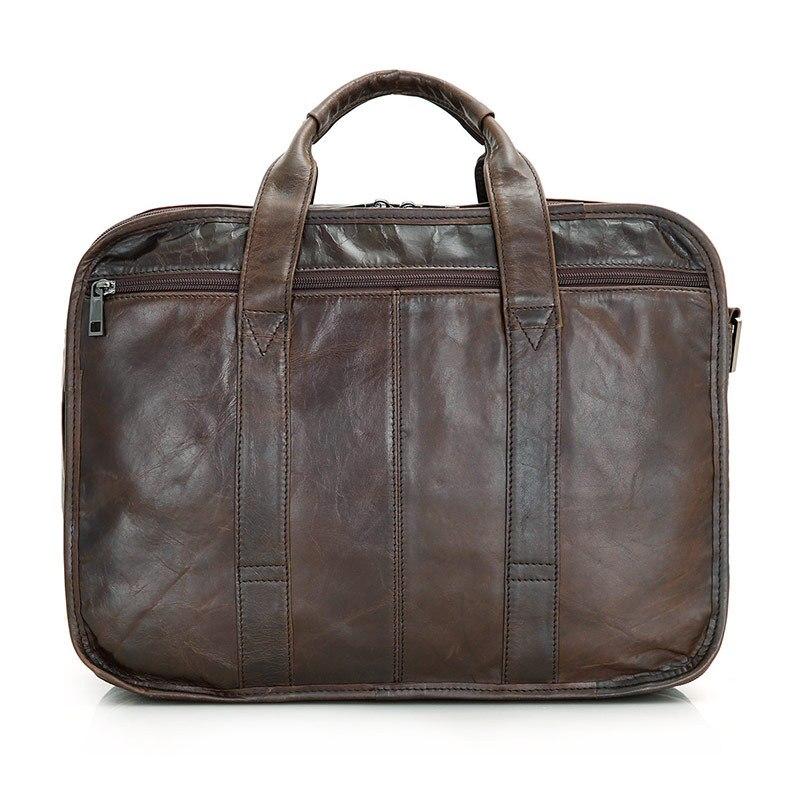 Zoll Echten Qualitätsweinlese Förderung Aktentasche Leder Realen 6 Nesitu Messenger Laptop M7093 Bags Männer Tasche 15 vaqw5tnx