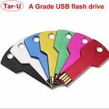 Подарок 100 шт 256Mb Ключ форма usb флэш-накопитель с логотипом Выгравированный флеш-накопитель карта памяти
