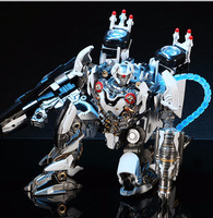 27Cm Alloy Version Deformation Aircraft Robot Transformation Toys Zeus Figures Model Children Boy Gifts