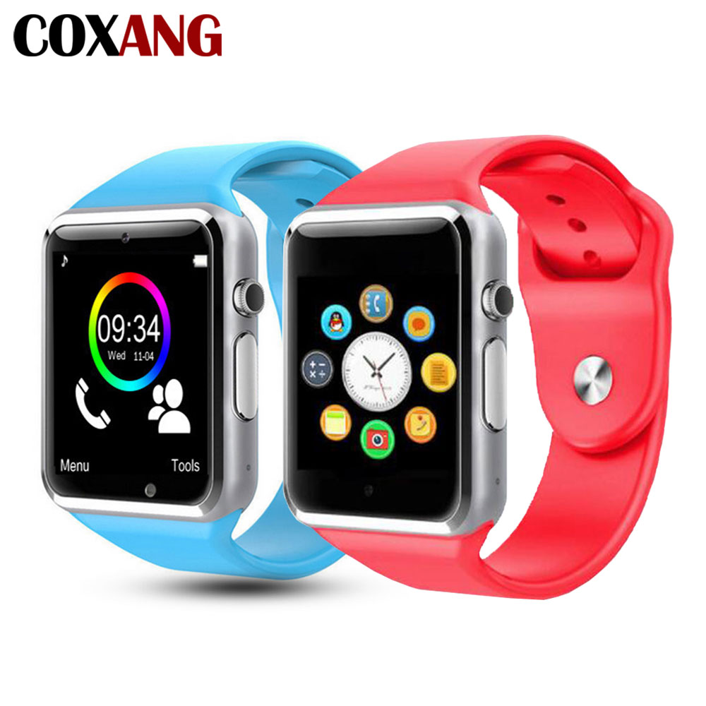 COXANG Smart Watch For Children Kids Baby Watch Phone 2G Sim Card Dail Call Touch Screen Waterproof Smart Clock Smartwatches-in Smart Watches from Consumer Electronics