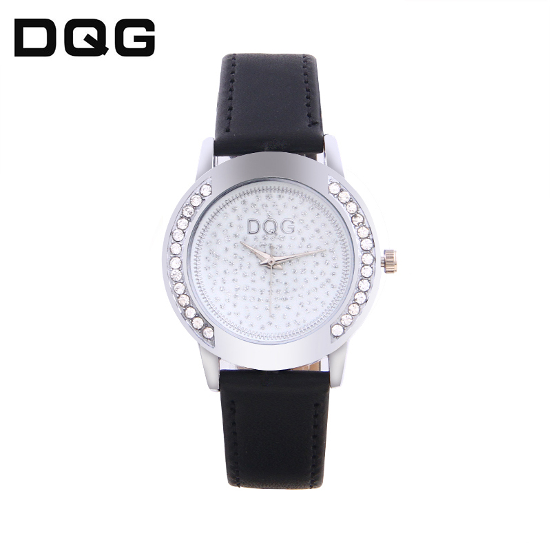 Ladies Fashion Quartz Watch Women Leather Casual Dress Watch Red Relojes Mujer 2020 Montre Femme Rhinestone Watch Women Saati