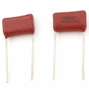 Image 4 - MCIGICM 1000 pcs 470nF 474 450V CBB Polypropylene film capacitor pitch 15mm 474 470nF 450V