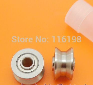 high quality TU16 T16 U16 T16.5 ABEC5 6mm pulley bearings 5x16.5x9x11mm U groove roller wheel ball bearing T-U-16 sg15 10 2rs for 10 mm 6mm shaft u groove pulley ball bearings 5 17 8 9 75 mm track guide roller bearing sg5rs