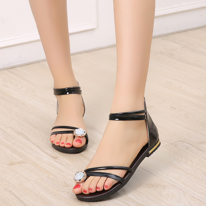 Women Sandals Summer Shoes Woman Flip Flops Gladiator Sandals Flat Casual Shoes Woman shoes 2017 summer Ladies Shoes phyanic 2017 gladiator sandals gold silver shoes woman summer platform wedges glitters creepers casual women shoes phy3323
