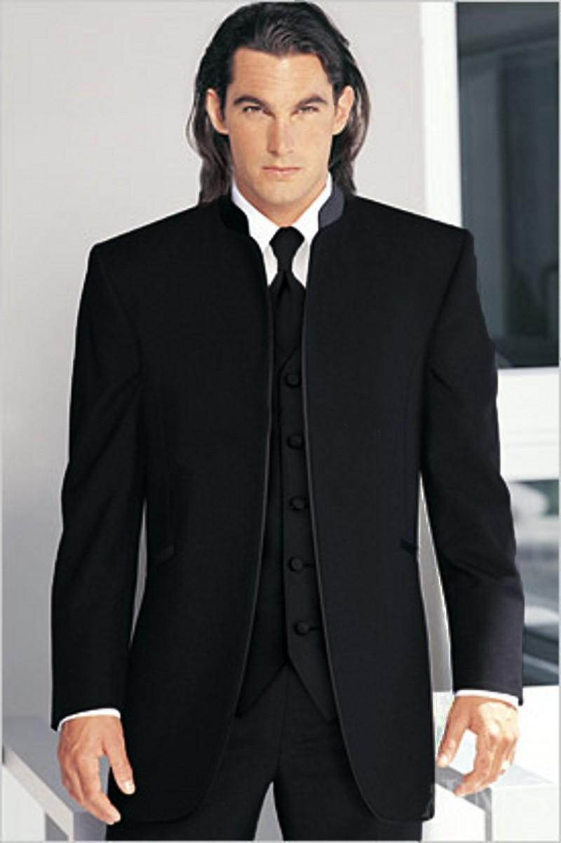 (Jacket+Pants+Vest)2019 New Arrival Custom Slim Fit Groom Bestman Tuxedo Men Wedding Suits For Men Costume Homme Mariage Terno