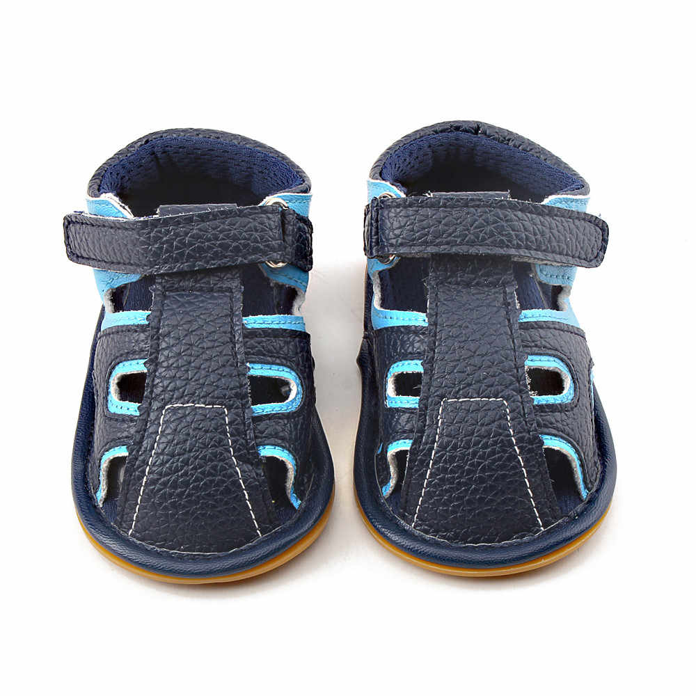 LONSANT baby shoes  Wraped Toe Toddler Boys Sandals Cross-tied leather  Baby  Boys Sandals  Summer  casual Kids  Sandals
