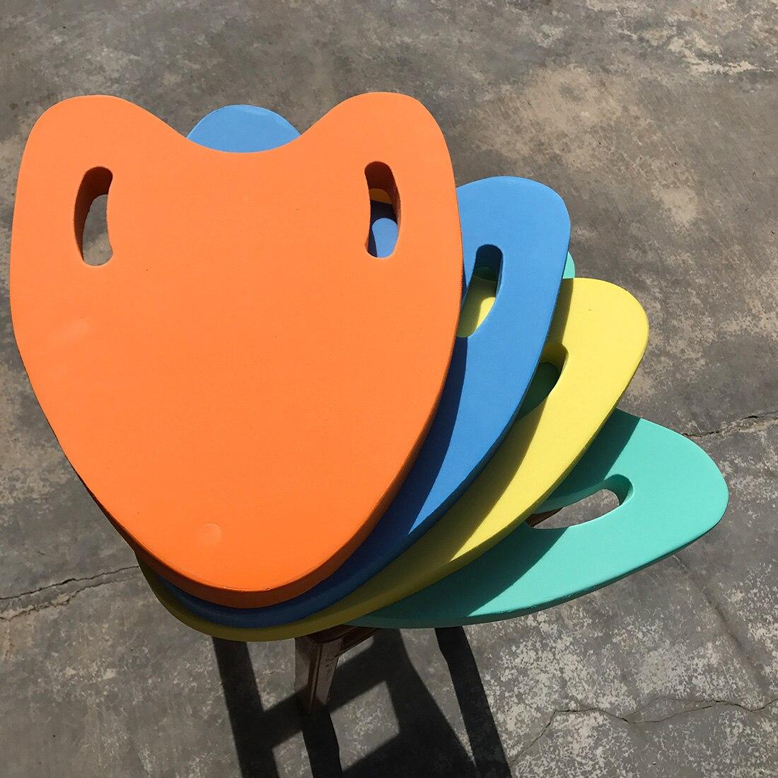 Hot 1PCs A Shape EVA Back Float Kickboard Swimming Board Floating Plate Pool Float Training Aid Tools For Adult & Children
