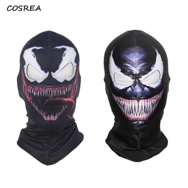 Venom Spiderman Mask Cosplay Costumes Black Edward Brock Dark Spider