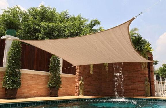 4 m x 6 m rectngulo rectngulo sombra uv lonas de tela nueva rectangular rectngulo impermeable