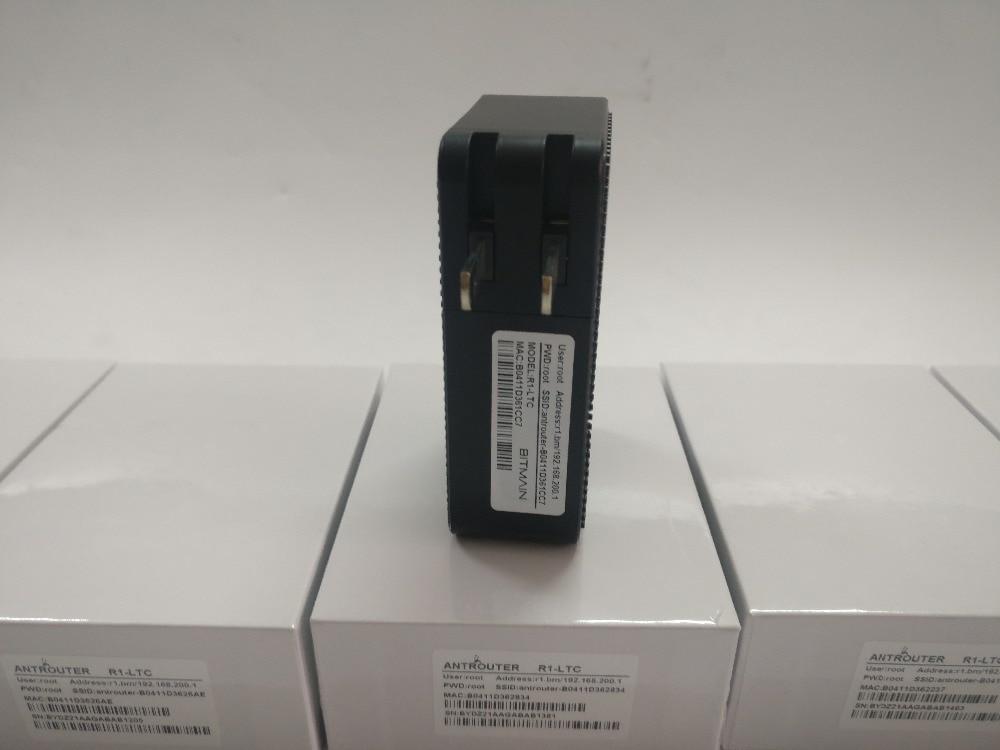 ANT MINER R1 LTC Bergmann 1.29Mh/s Scrypt Miner Litecoin Bergbau Maschine Und 2,4G Wireless Router 150mbPS 150m Wifi