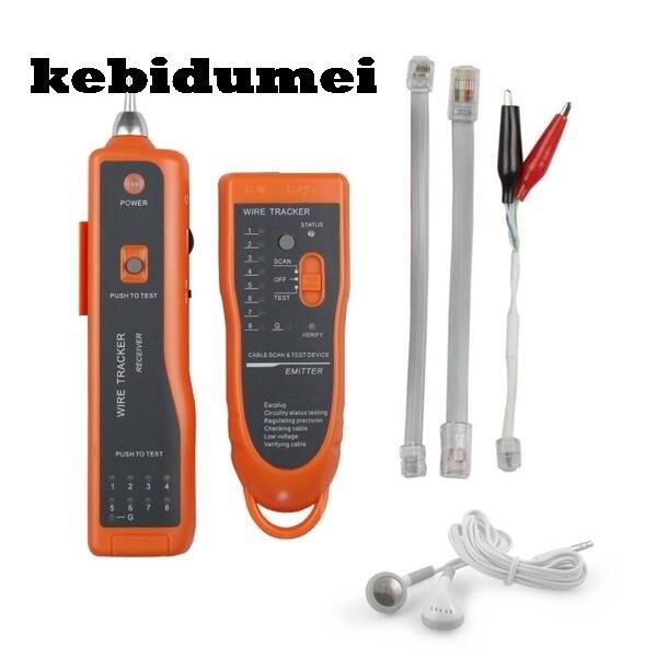 kebidumei rj11 rj45 car telephone wire tracker tracer ethernet lan
