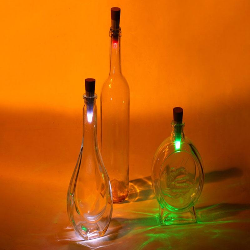 LumiParty New Bottle Light Cork Shaped Rechargeable