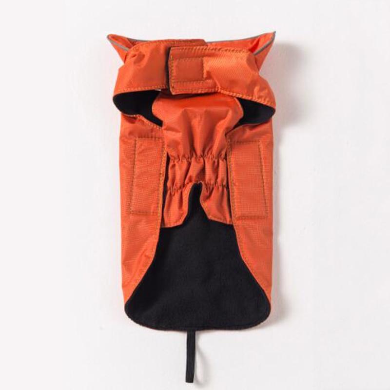 Fekete vörös vízálló kisállat kutya kabát 100% - Pet termékek - Fénykép 3