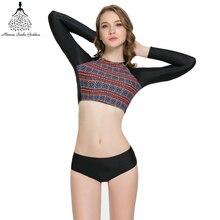bikini Swimwear Female departure beach swimwear Women Bikinis long sleeve  bathing suit swimming suit for women bikini set