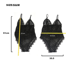 Sexy Lace Bodysuit Women EL27J0