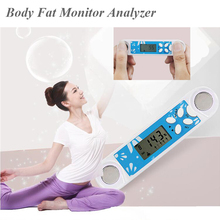 Body Fat Analyzer Monitor BMI Digital LCD Display Weight Loss Tester Calculator Smart Scales Weight Management Equipment O25