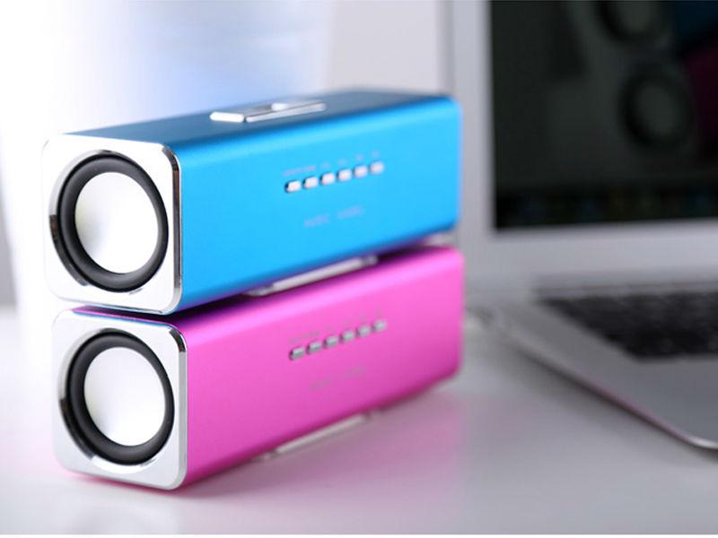 3.5mm Mini Portable Stereo Speaker Loud Speaker for iPhone iPod Laptops PC MP3