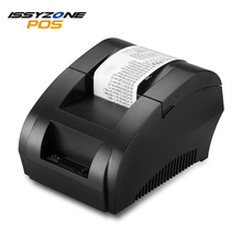 ISSYZONEPOS 58mm Thermal Printers Mini Receipt Printer Cheap POS Printer USB Printing for Supermarket Restaurant Retail Shop
