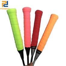 Powerti 6 шт/лот сухой sweatbrand овергрипы для теннисной ракетки