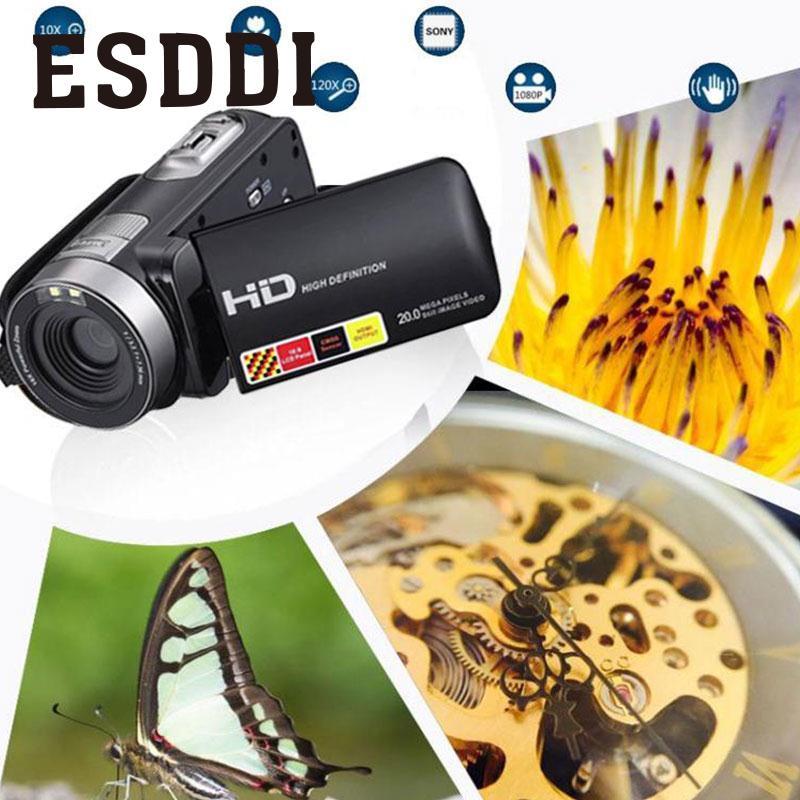 2017 hot New 3.0 ''LCD 1080 P HD Vision Nocturne de Soutien Infrarouge Appareil Photo numérique Vidéo DV DVR US Plug Extérieure Voyager Cam Cadeau
