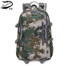 Купить с кэшбэком FengDong student waterproof camouflage large school backpack school bags for teenage boys bagpack men travel bags dropshipping
