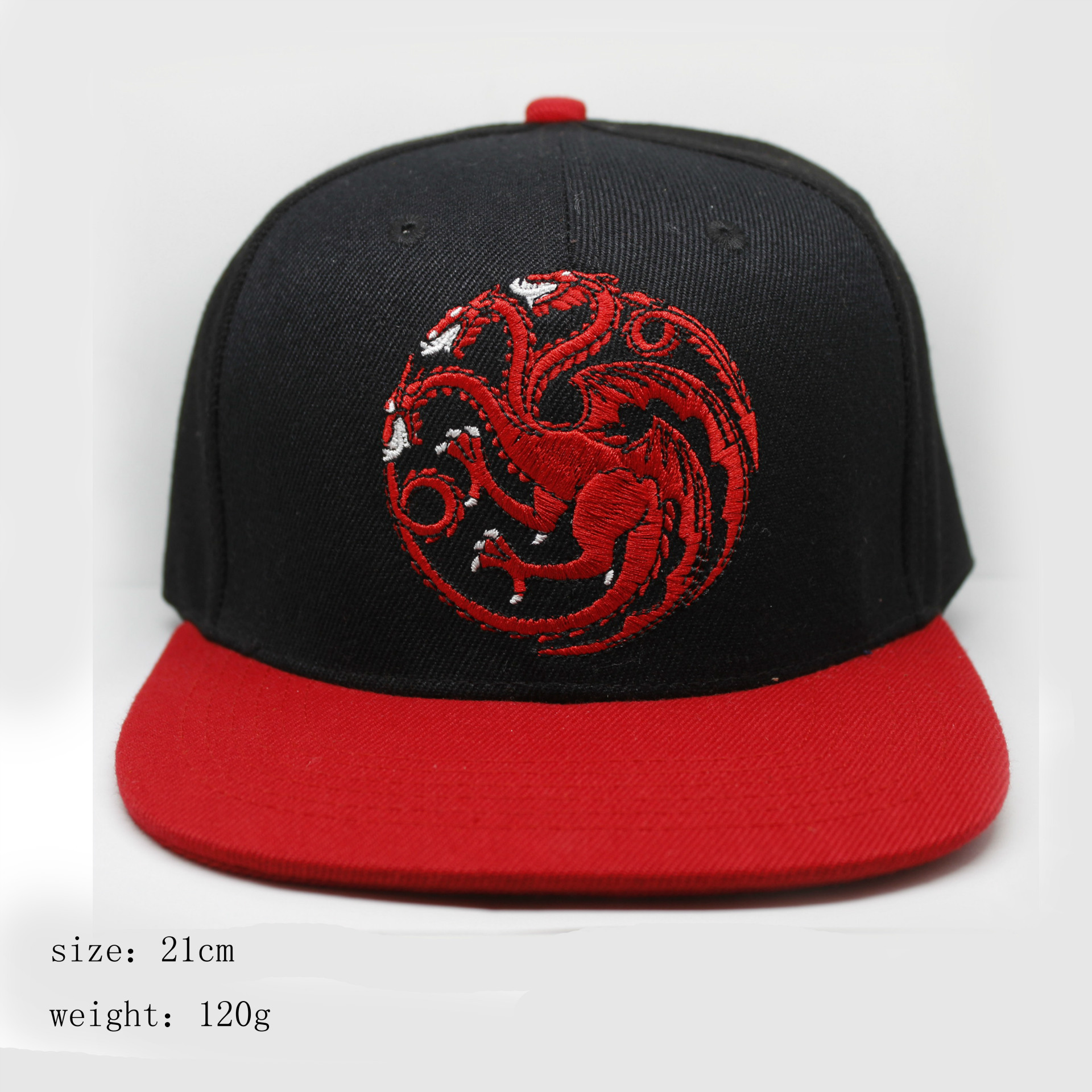 Game of Thrones Anime Luigi Buckle Cosplay Hip Hop Adult Hat House Targaryen cartoon adjustable baseball cap
