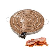 Холодной генератор дыма для барбекю гриль для лосося Бэкон мясо рыба сжечь курильщик инструменты Пособия по кулинарии нержавеющей оборудование для барбекю