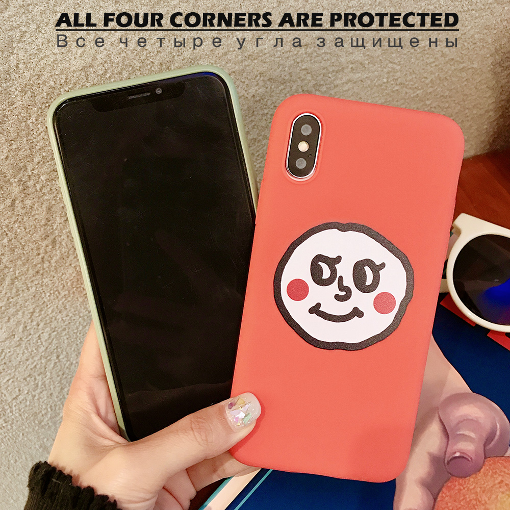 KIPX1076C_2_JONSNOW Couples Style Soft Case for iPhone 7 8 6S 6 Plus Silicone Case for iPhone X XR XS Max Cartoon Painted Back Cover