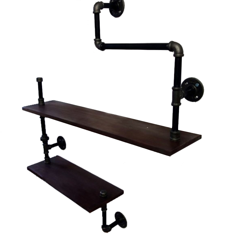 American Country Wrought Iron Furniture Industry Pipe