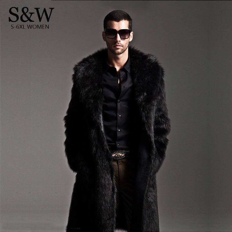 Online Buy Wholesale mens full length fur coats from China mens ...