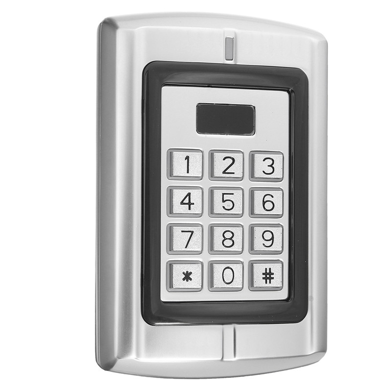 Waterproof Password Keypad RFID Card Reader Entry Door Lock Access Control Security System 128 mm*82 mm*28 mm usb pos numeric keypad card reader white