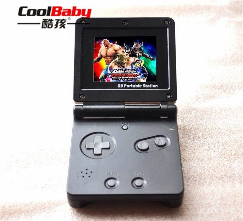 Atacado gb estação handheld game console luz menino 8bit clássico jogos portátil handheld jogo de vídeo player para crianças jogos brinquedos