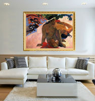 Well Know Artwork Paul Gauguin Are You Jealous Oil Painting On Canvas Reproduction Hand Painted Are You Jealous Canvas Painting