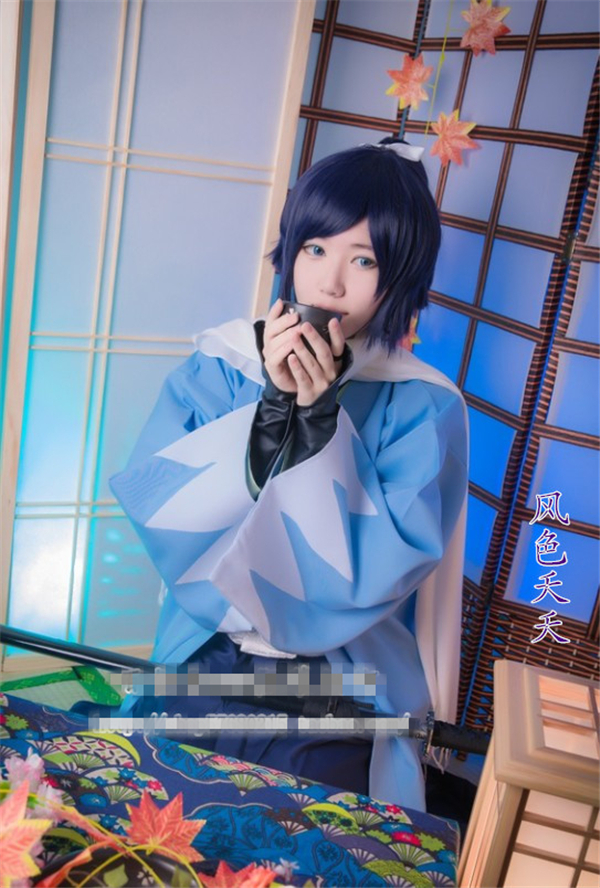 The Game Touken Ranbu Online Yamatonokami Yasusada Cosplay Costum Coat+Pants+Jersey Jacket+Accessories+Free Shipping G