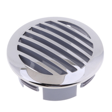 RV Marine Boat 3' (76mm) Stainless Steel Curved Clad Airflow Air Flow Vent 81932SS-HP High Quality and Durable