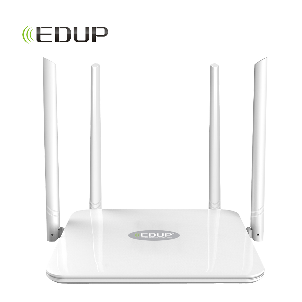 EDUP High Power 1200mbps WiFi Repeater 5ghz English Version WIFI Router Dual Band wifi range extender wlan wifi signal amplifier