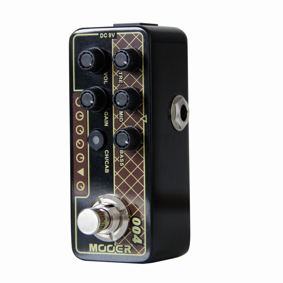 Mooer 004 Day Tripper Micro Preamp Guitar Effects Pedal High-quality Dual Channel Guitar Pedal Guitar Accessories mooer micro looper mini guitar effects pedal high quality sound restoration guitar pedal guitar accessories