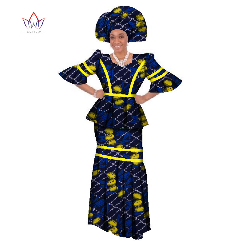 0e31ecf7b58 Skirt Set African Designed Traditional Print Clothing Plus Size suit  african traditional clothing for women Evening dress WY135