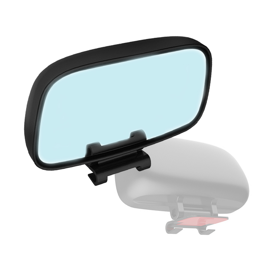 1Piece Universal Car Truck Blind Spot Mirror Wide Angle Rear Side View Adjustable Eliminates Spots